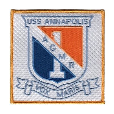 USS Annapolis AGMR - 1 Communication Relay Ship Military Patch VOX MARIS