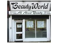 Part time beauty therapist needed ( south side ) & hairdressing junior also needed
