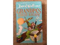Grandpa's Great Escape Hard Back David Walliams