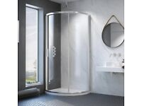 kudos 810 mm glass shower enclosure