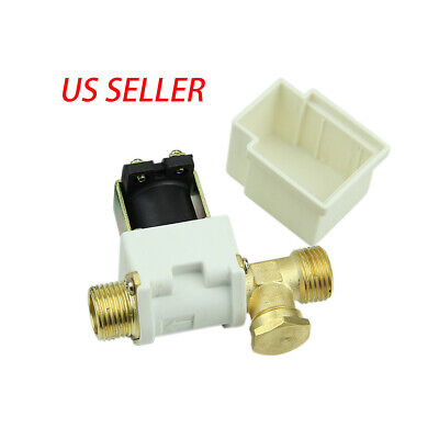 12 Electric Solenoid Valve For Water Air Nc Normally Closed Dc 12v
