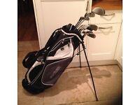 Golf club-Nicklaus Driver-Fairway Wood-Hybrid-Fazer Irons-Putter-New Fazer Bag-Glove-Umbrella-& more