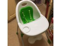 Babies Highchair - Mamas and Papas.