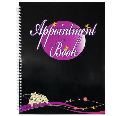 4 Columns Salon Beauty Nails Appointment Schedule Planner Organizer Book