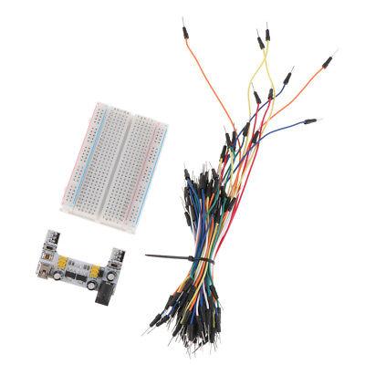 Mb-102 K2 Solderless Breadboard Protoboard Power Supply Module Jump Wire