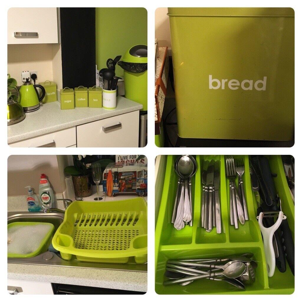 Kitchen Shelf Gumtree: Lime Green Kitchen Accessories