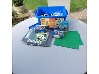 Lego Box, Road and Grass and other items