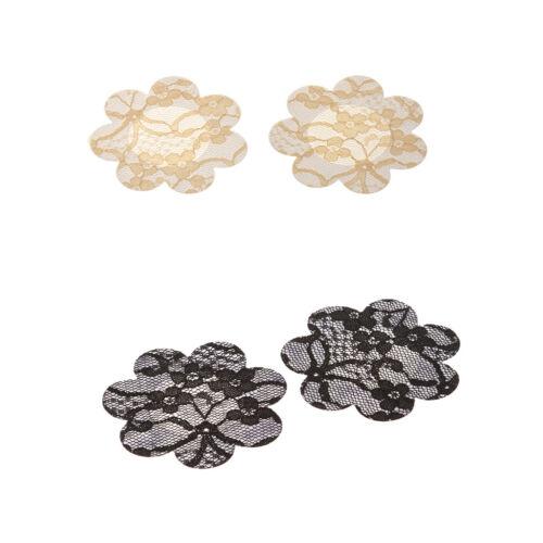 40Pcs Lace Flower Breast Nipple Pasties Cover Bra Pad Self Adhesive Sticker