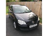 2006 Volkswagen Polo - Black, Hatchback, 1.2, Manual, 5 Door