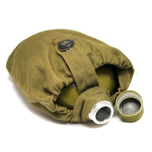 Soviet Russian army original Soviet canteen water bottle military canteen cover