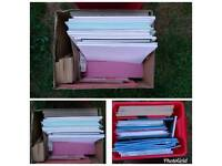 2 boxes of stationery.