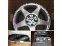 "Mercedes w203 5 x 112 C Class Genuine 16 "" alloys"
