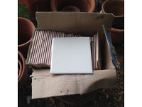 box of tiles - Perfect for a small kitchen splash back or bathroom.