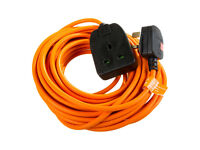 Heavy Duty ( 8m/26ft ) Outdoor Extension lead cable - ( New in package )