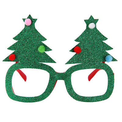 Novelty Christmas Tree Sunglasses Christmas Party Accessory Kids Holiday Gift
