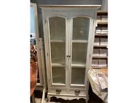 Vintage style glazed cabinet