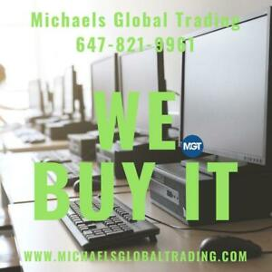 We Buy Your Office Furniture & IT Equipment • Michaels Global Trading