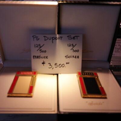 RARE PG Matching Set  #125 Paul Garmirian S.T. Dupont Line2 lighters NEW