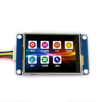 2.4 Uart Hmi 320x240 Touch Screen Resistant Module Lcd Display For Arduino Tft
