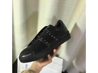 Valentino Garavani Rockstud Entitled Noir Sneakers all sizes available