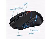 VicTsing X-08 Professional 2400 DPI 2.4G Wireless Gaming Mouse for PC............Brand New