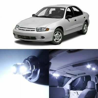 9 x Xenon White Interior LED Lights Package For 1995 - 2005 Chevy Cavalier +TOOL