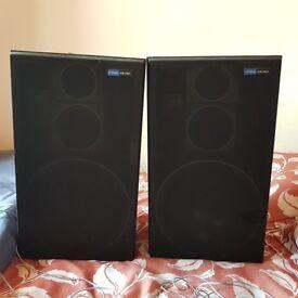 Set of 2 Vintage Floor Standing Large Pioneer CS-767 Speakers