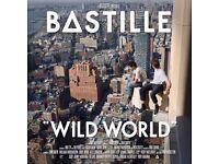 Bastille Wild World Tour Standing London O2 Tuesday 1st October