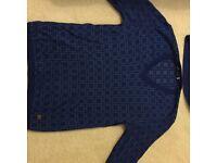 Versace jumper and versace tshirt