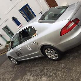 Immaculate Scoda superb taxi for sale