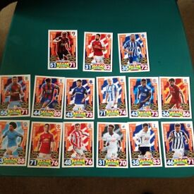 Match Attax Game Changers Full Set of 15 cards