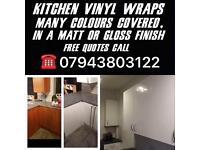 Kitchen vinyl wraps