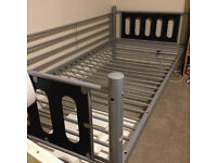very light metal single bed frames. Only 10 pounds each!