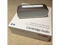 Cambridge Audio G2 Bluetooth Speaker - as new - only £59!