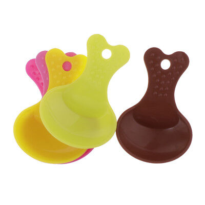 5pcs Candy Color Dog Puppy Food Scoop Scooper Pet Feeder Spoon Feeding Tools