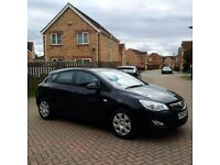 2010 VAUXHALL ASTRA 1.6 EXCLUSIV, BLACK, MOT 12 MONTHS, CRUISE, FULL SERVICE HISTORY