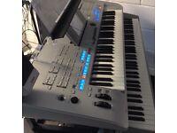 Yamaha Tyros 4 Twin TRX System Super Elite & NP30 keyboard & Tetron pedal board