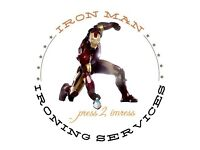 Iron Man Ironing Services - Wash, Dry and Ironing services - FREE COLLECTION & DELIVERY