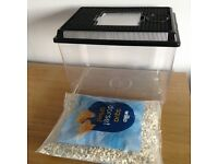 Cold Water Fish Tank (10L) with Gravel