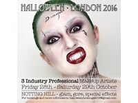 Halloween Makeup Bookings London 2016