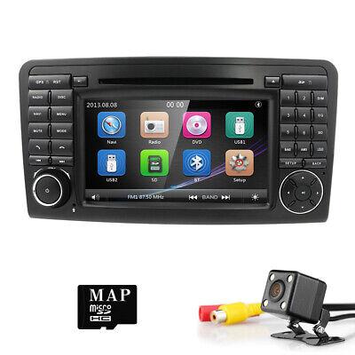 "7"" NAVI DVD GPS Navi Bluetooth Autoradio für Benz ML/GL-Class W164 X164+HD Kamer"