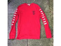 Trapstar London red long sleeve top