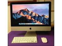 Late 2015 21.5 Full HD Apple iMac i5 1.6ghz 8GB RAM 1TB HDD intel 6000 GPU AST26