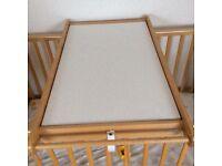 Changing table top (john lewis)