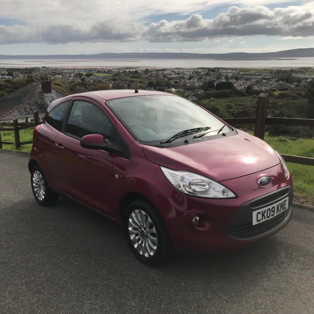 KA Zetec 3dr Hatchback Pearlescent Red 1.3 Diesel £30 a year tax Long Mot