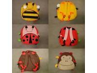 Kids Animal Backpacks Orange idea (skiphop)