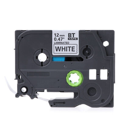 Black On White Label Tape Ruban Compatible For Brother Tape Tz 231 Tze 231 12mm