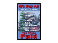 Scrap Vehicle Collection Best price paid!