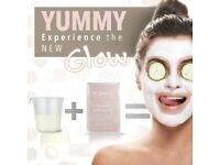 Natural Coconut Face Mask- Peel-Off Anti-Ageing Mask-Moisturising and Rejuvenated Dry Skin