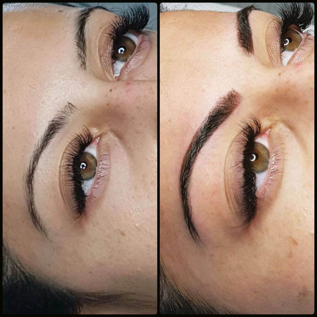 Semi permanent makeup/cosmetic tattooing for Eyebrows, Eyeliner